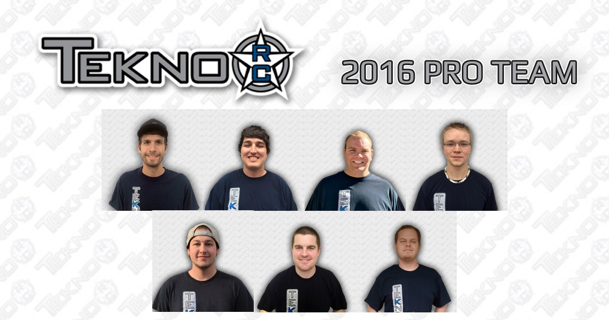 Meet The Tekno RC 2016 Pro Team!