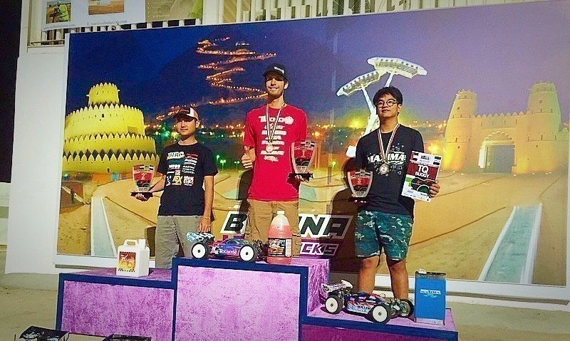 Ryan Lutz Wins National Day Event at Binona RC in Al Ain, UAE.