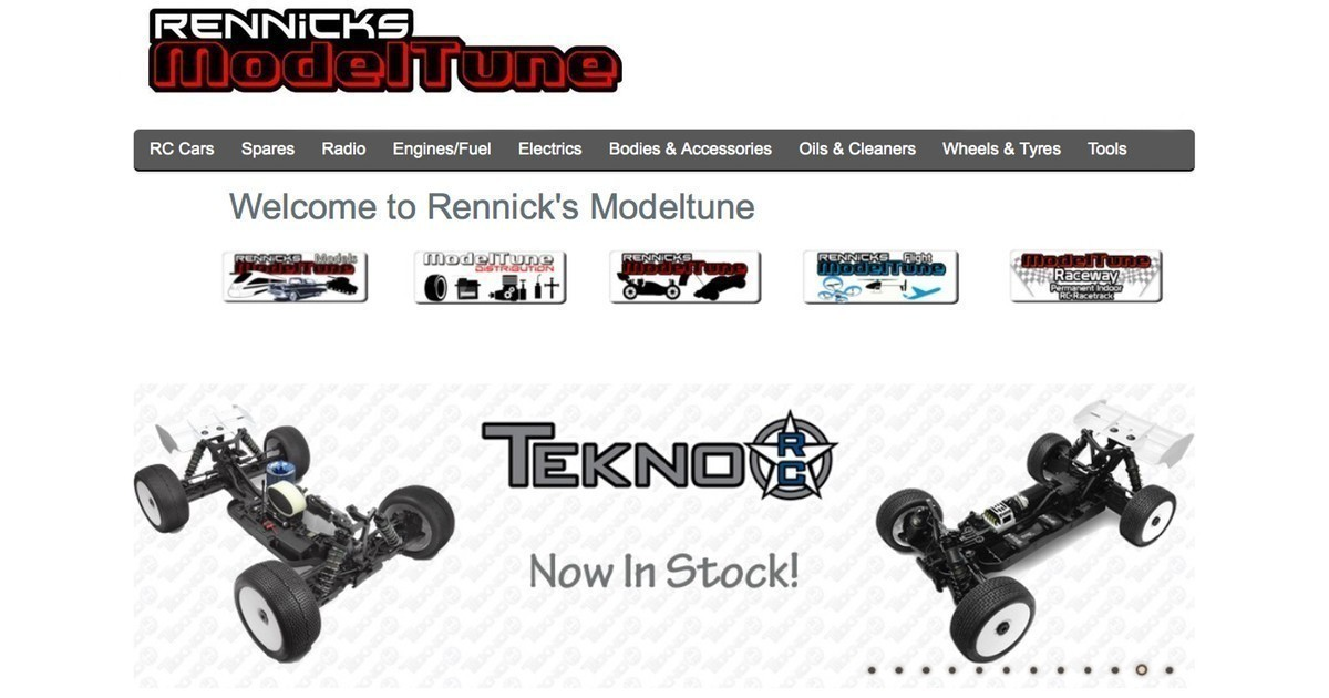 Tekno RC now available in Ireland!