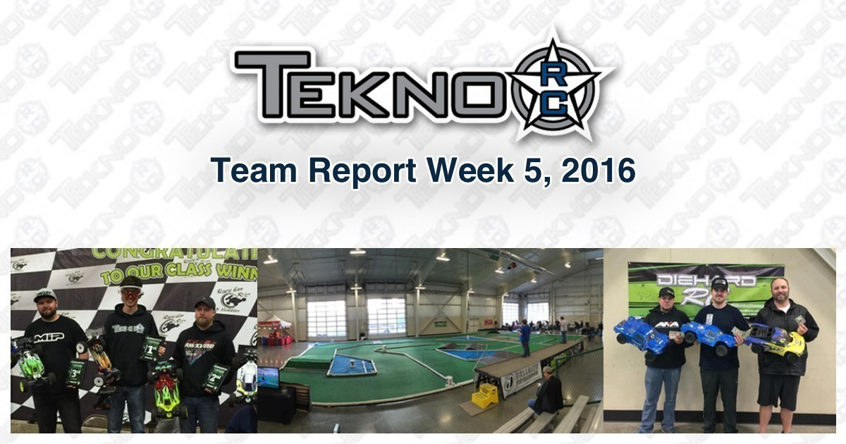 Tekno RC Team Report Week 5 2016
