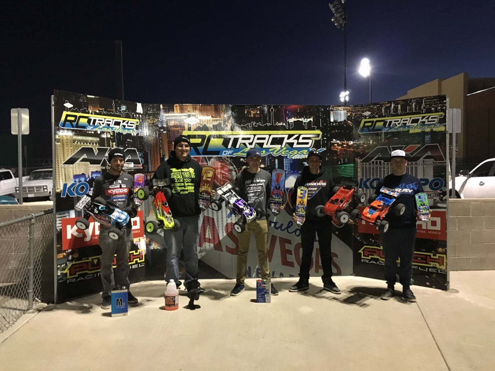 Nitro Truggy Podium