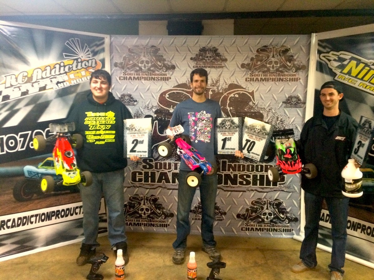 Ryan Lutz Joe Bornhorst SIC 2016 Nitro Truggy