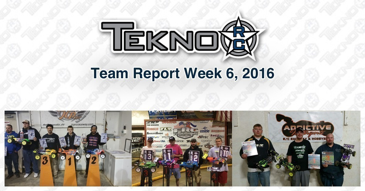 Tekno RC Team Report Week 6 2016
