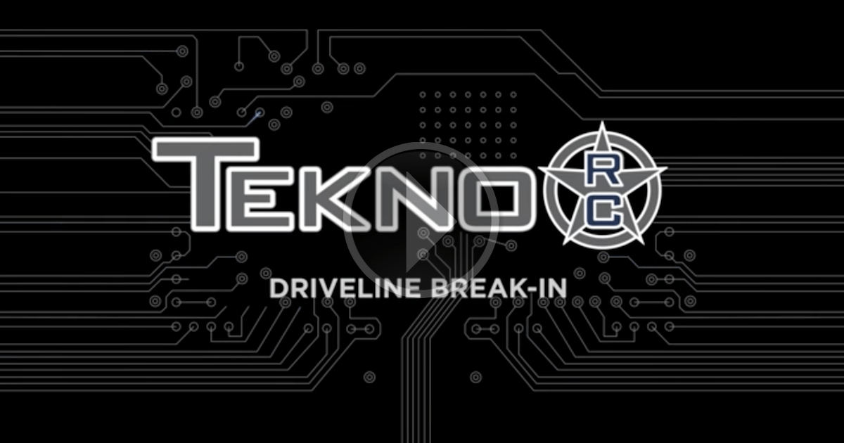 Tekno RC How To Videos: Driveline Break In