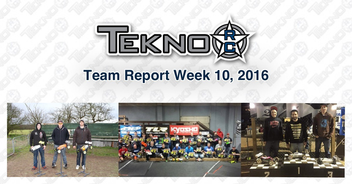 Tekno RC Team Report Week 10 2016