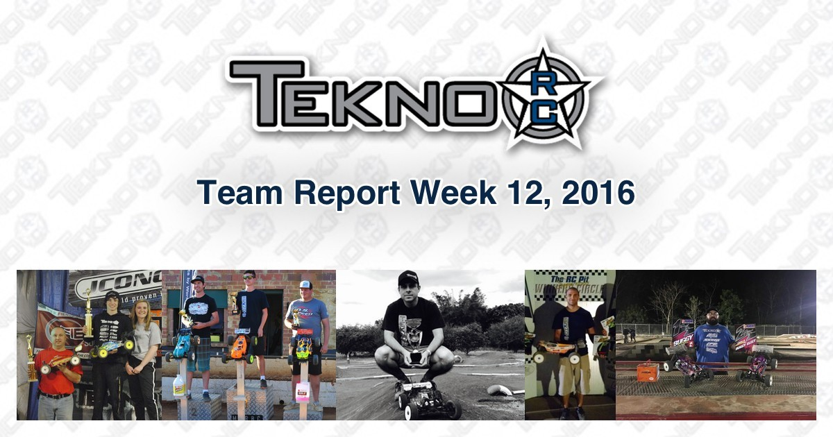 Tekno RC Team Report Week 12 2016