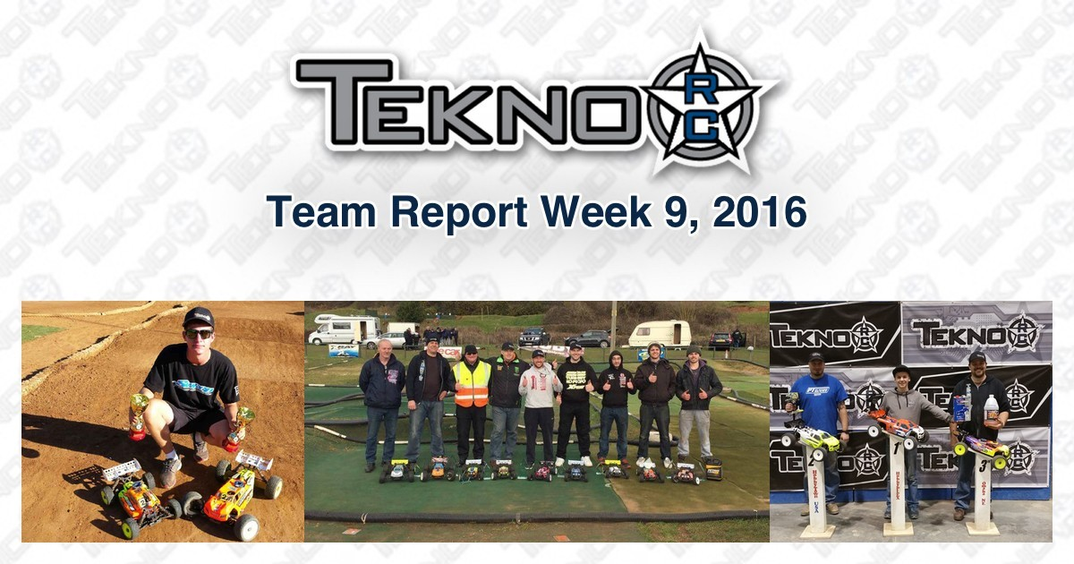 Tekno RC Team Report Week 9 2016