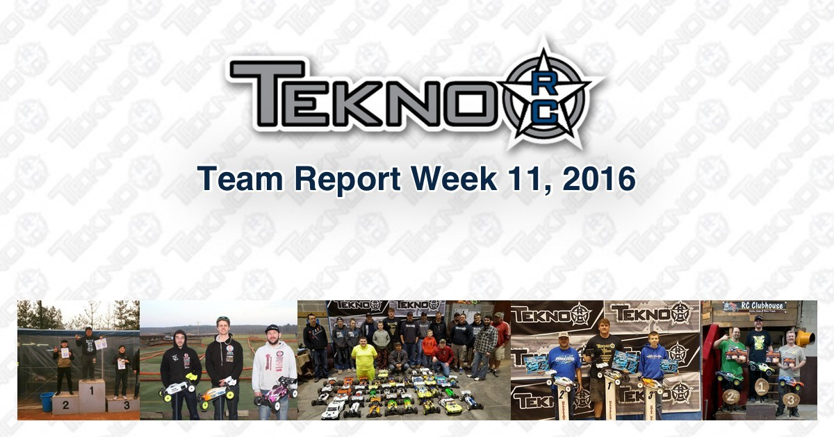 Tekno RC Team Report Week 11 2016