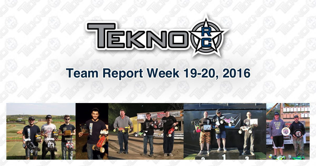 Tekno RC Team Report Week 19-20 2016