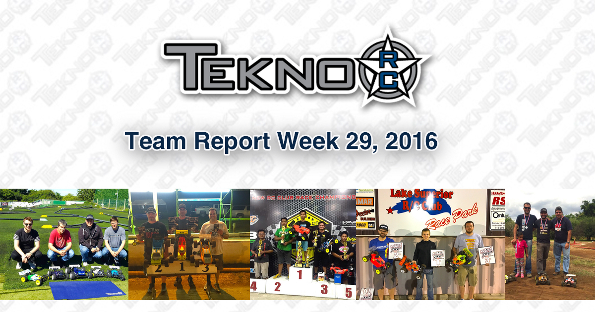 Tekno RC Team Report Week 29 2016