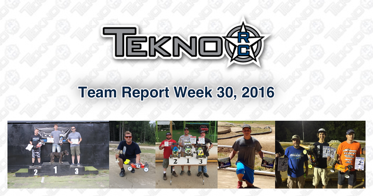 Tekno RC Team Report Week 30 2016