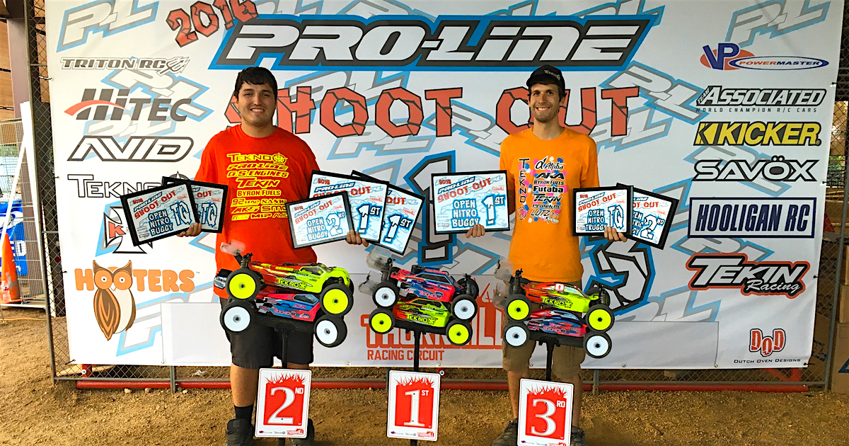 Tekno RC Sweeps 2016 Pro Line Shootout!