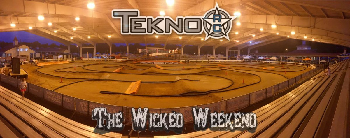 Wicked Weekend Double for Tekno RC!