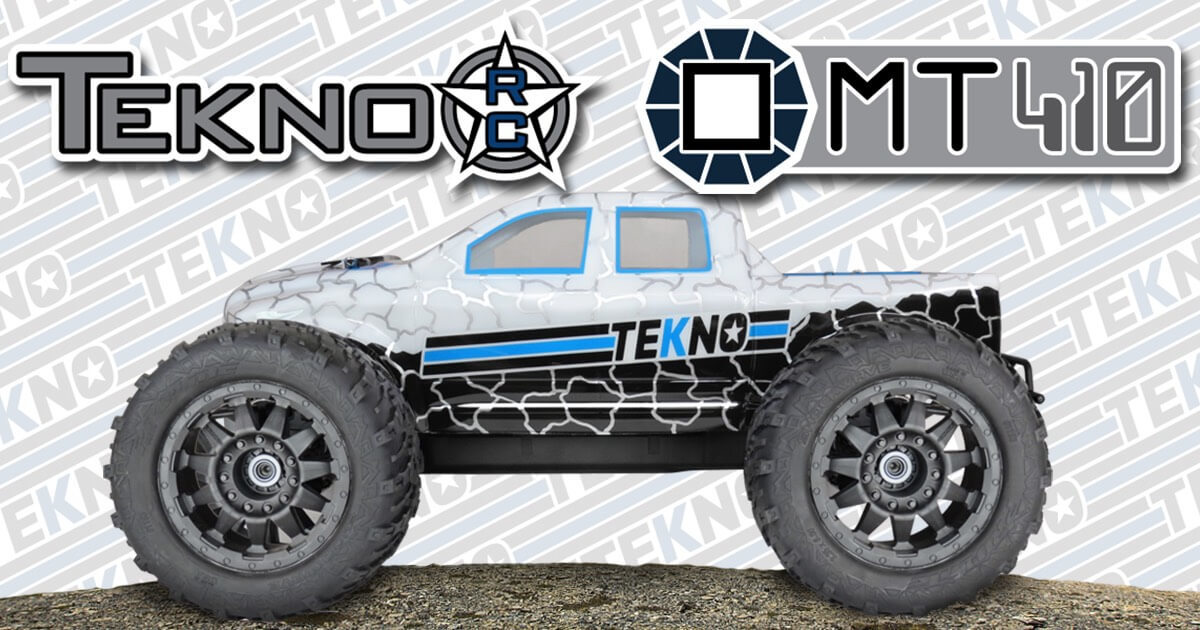 New MT410 Monster Truck from Tekno RC