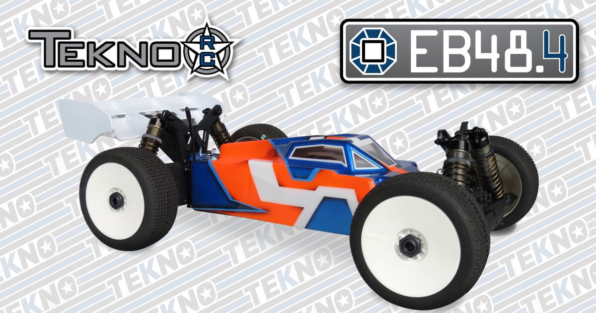 New EB48.4 1/8th Scale Buggy from Tekno RC