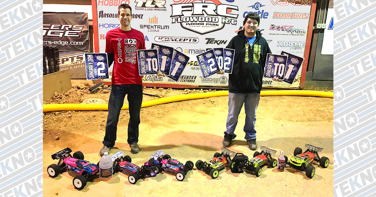Tekno RC Sweeps January Jam 2017!