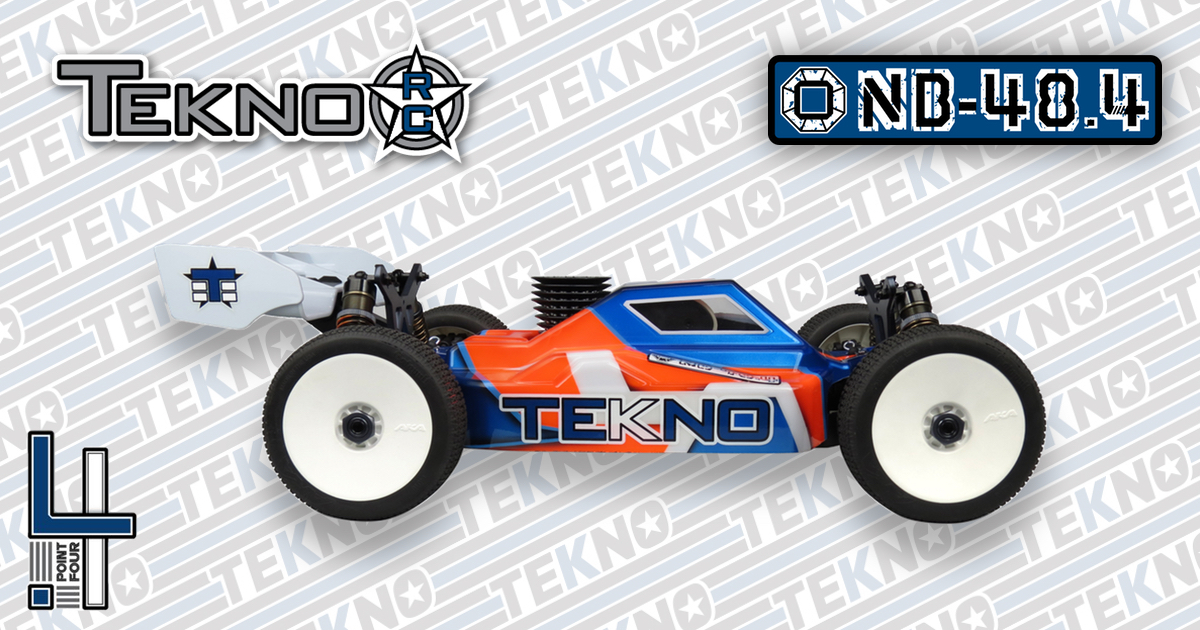 New NB48.4 1/8th Competition Nitro Buggy Kit From Tekno RC!