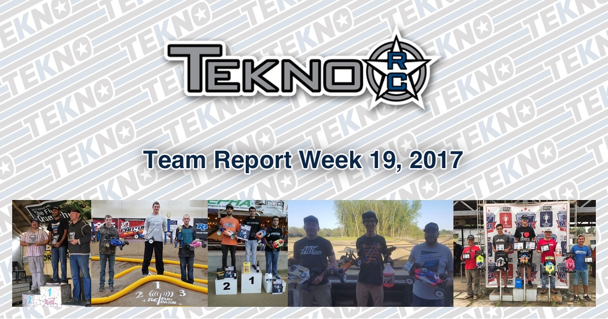 Tekno RC Team Report Week 19, 2017