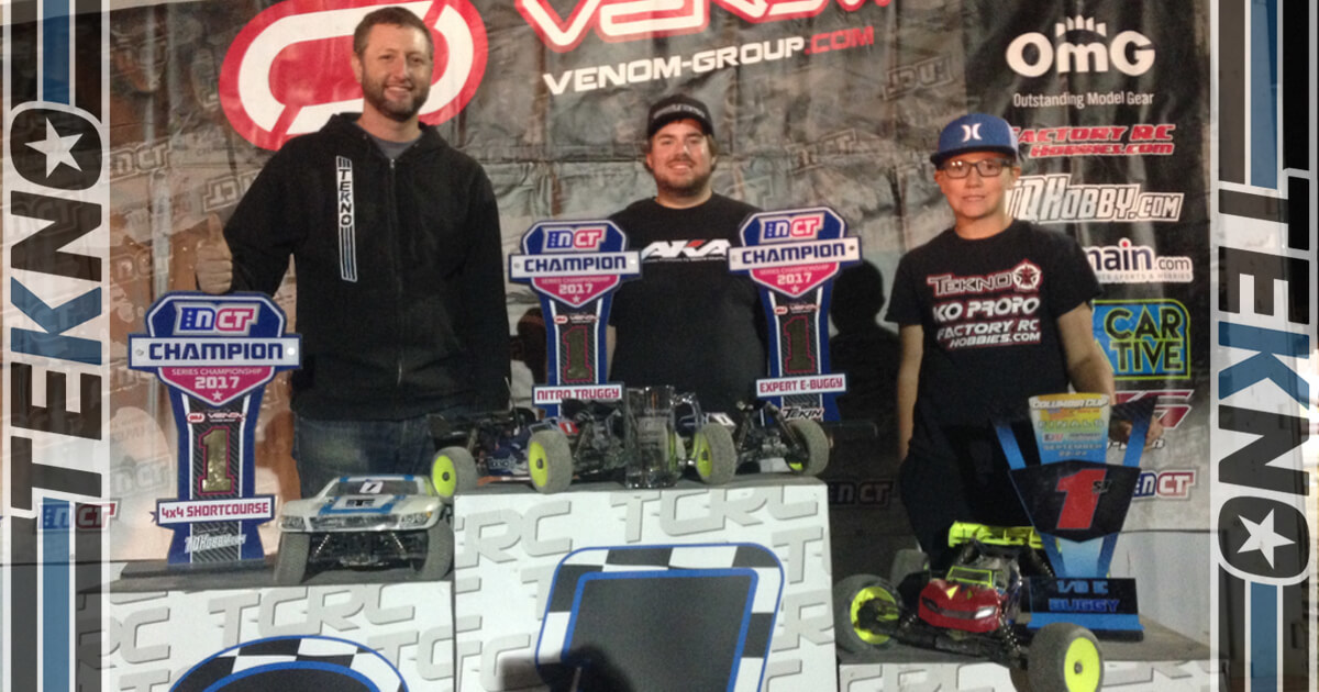 Tekno RC Sweeps 2017 Northwest Championship Tour!