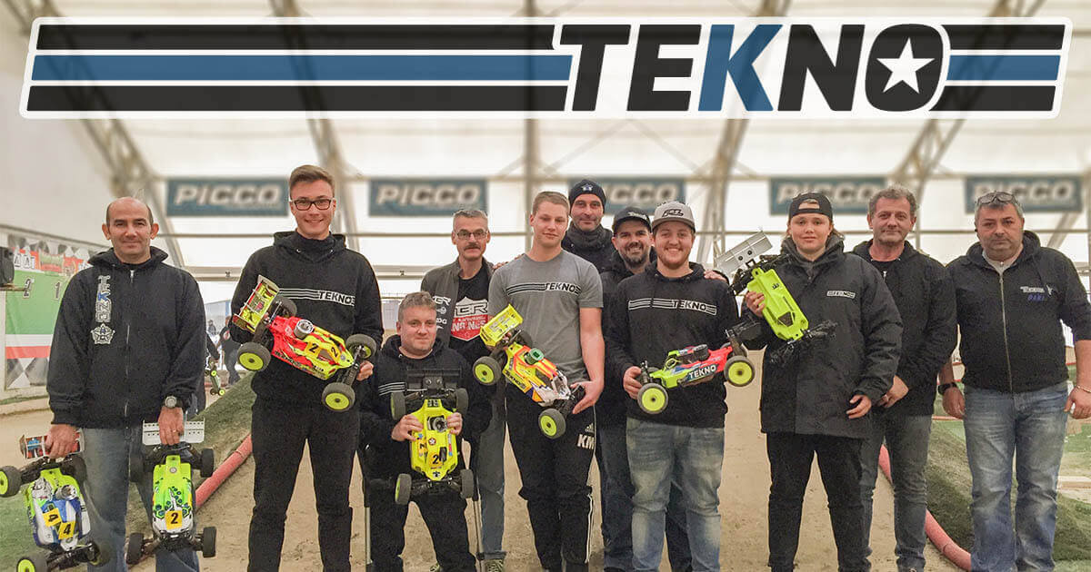 Tekno RC at the World Indoor Buggy Cup 2k17!