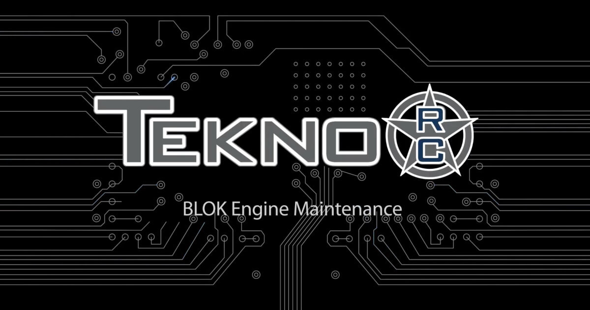 Tekno RC How-To Videos: BLOK Maintenance Video