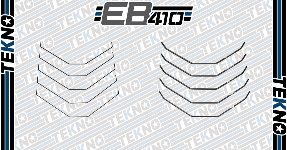 New EB410 Sway Bar Sets Now Available!