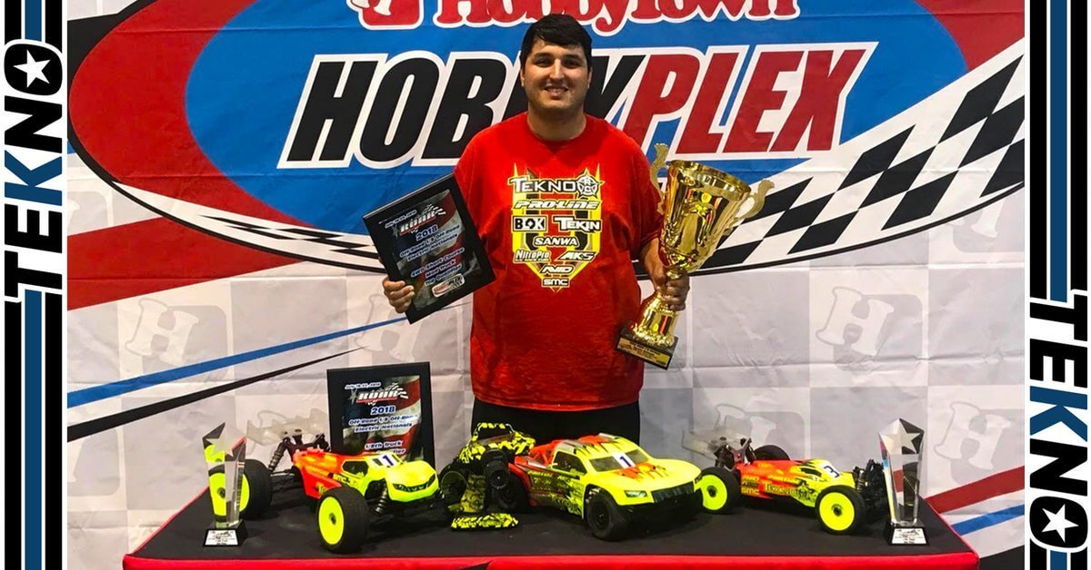 Tekno RC And Joe Bornhorst Win 4wd Short Course at the 2018 1/8th Electric ROAR Nationals!