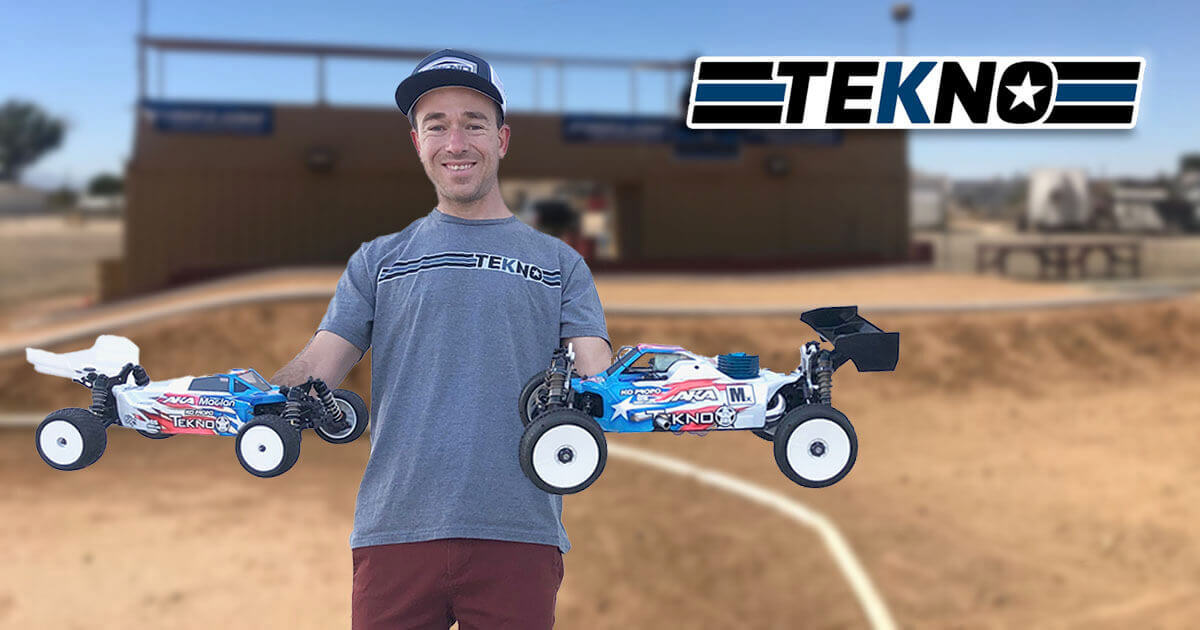 Tekno RC Welcomes Jared Tebo