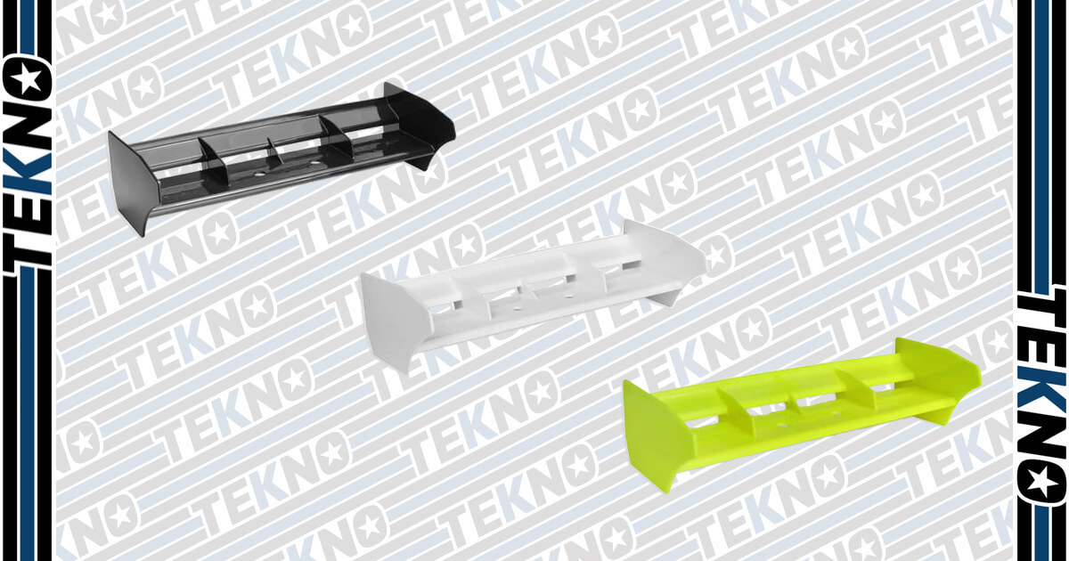 New Lightweight Wing From Tekno RC!