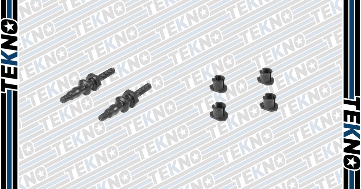 New Shock Cap Bushings and Shock Standoffs For Your EB410 and ET410!