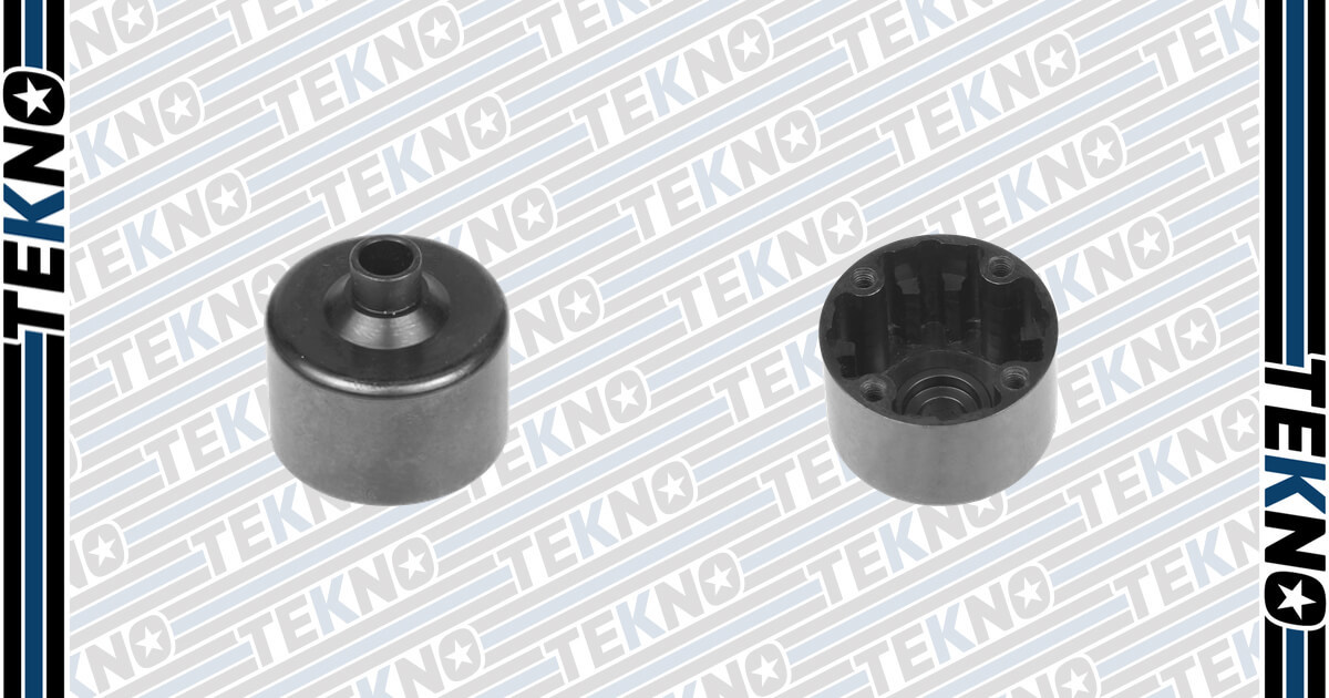 New Hardened Steel Diff Case From Tekno RC!