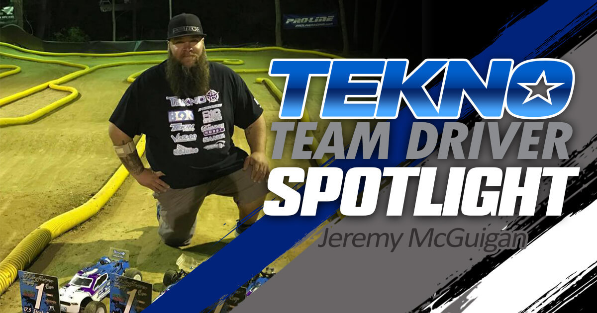 Tekno Team Driver Spotlight: Jeremy McGuigan