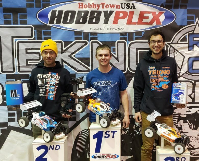 Tekno RC Winter Series at the Plex Report