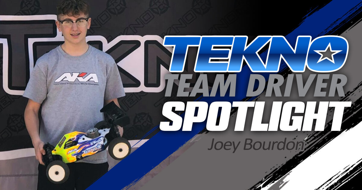 Tekno Team Driver Spotlight: Joey Bourdon