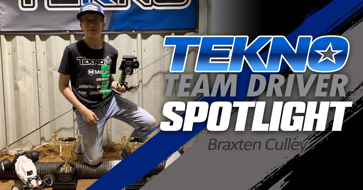Tekno Team Driver Spotlight: Braxten Culley