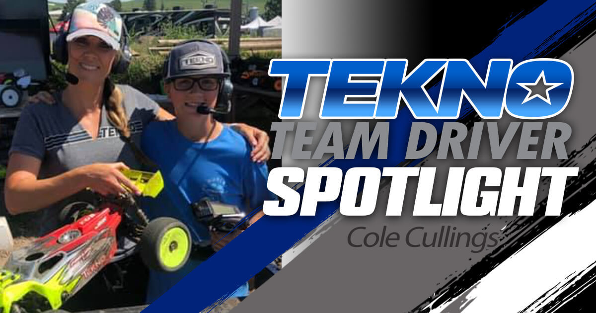 Tekno Team Driver Spotlight: Cole Cullings