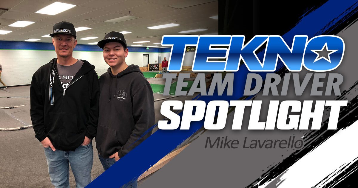 Tekno Team Driver Spotlight: Mike Lavarello