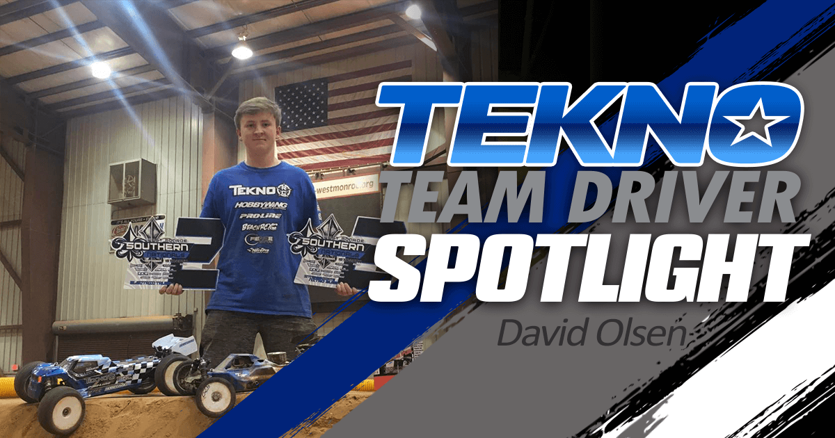 Tekno Team Driver Spotlight: David Olsen