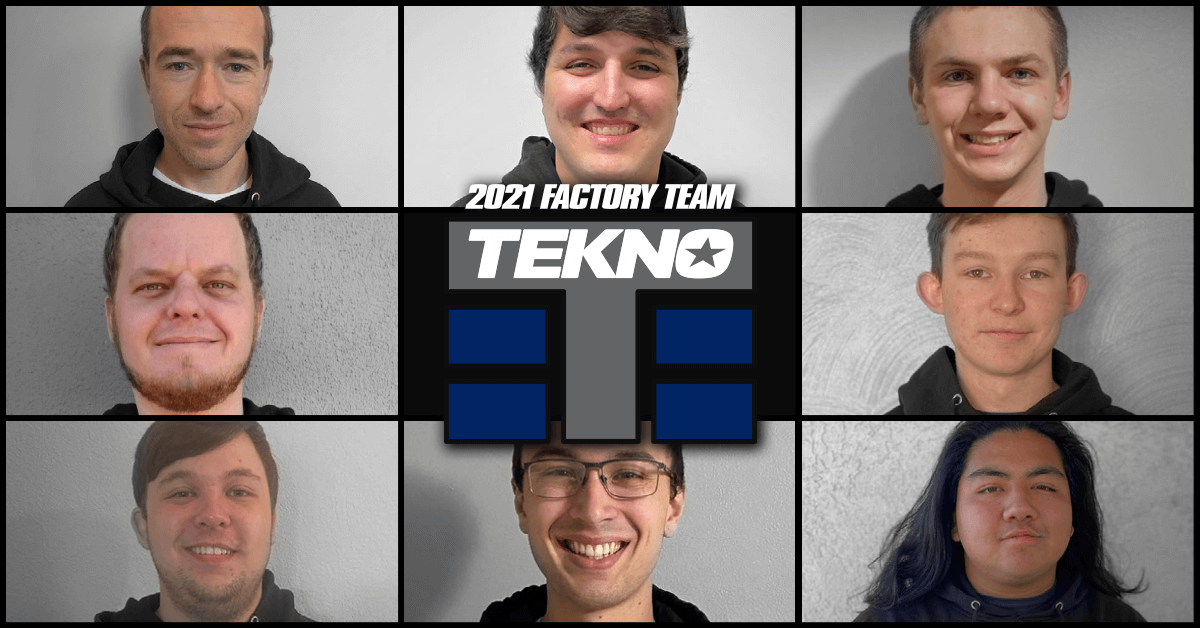 The 2021 Tekno RC Factory Team