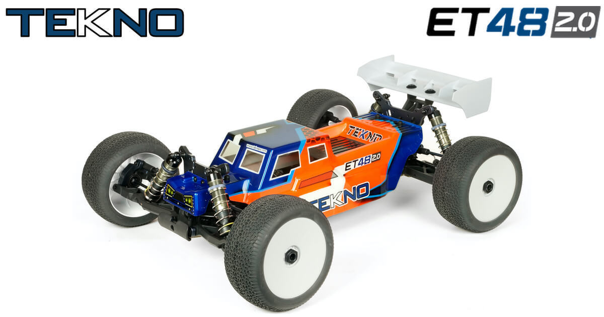 New Tekno RC ET48 2.0 1/8th 4WD Competition Electric Truggy Kit!